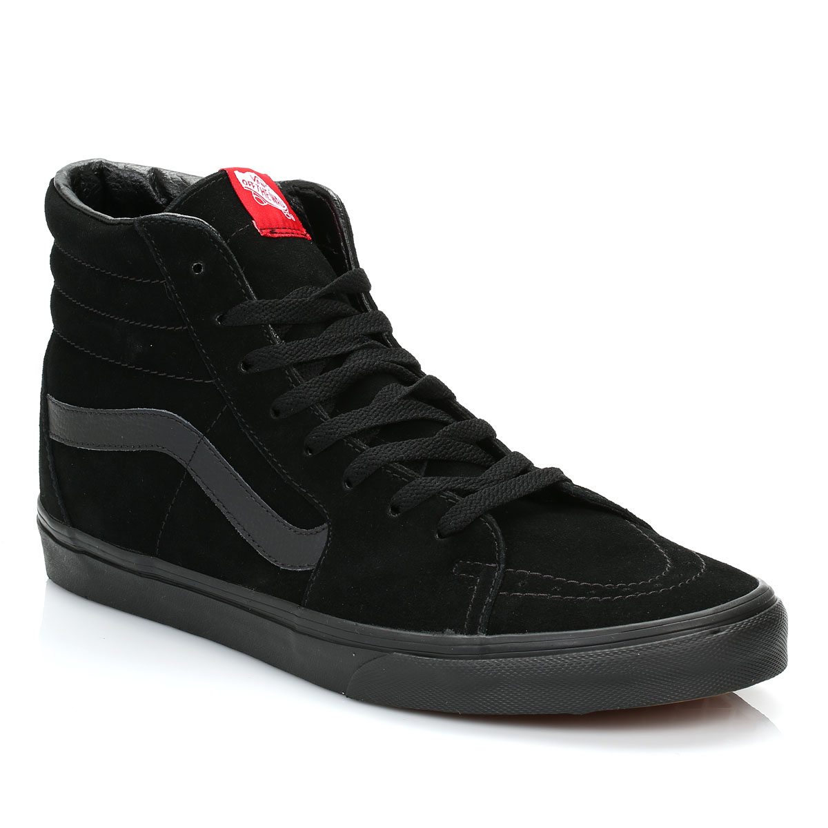 83eef667b6 Details about Vans Men High Tops Black SK8 Hi Suede Trainers LaceUp Sport  Shoes Casual VD5IBKA