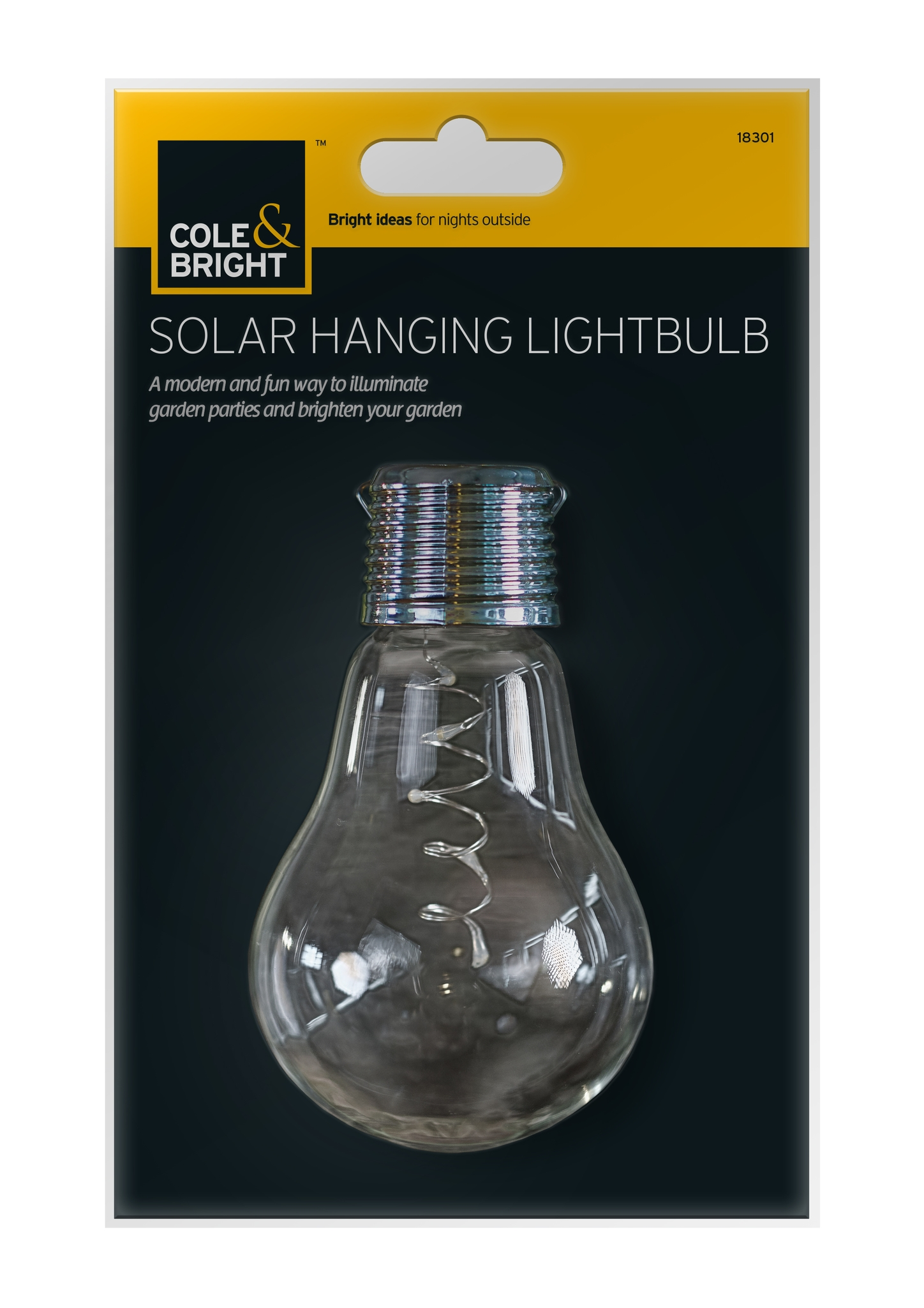 Beautiful solar Powered Light Bulbs