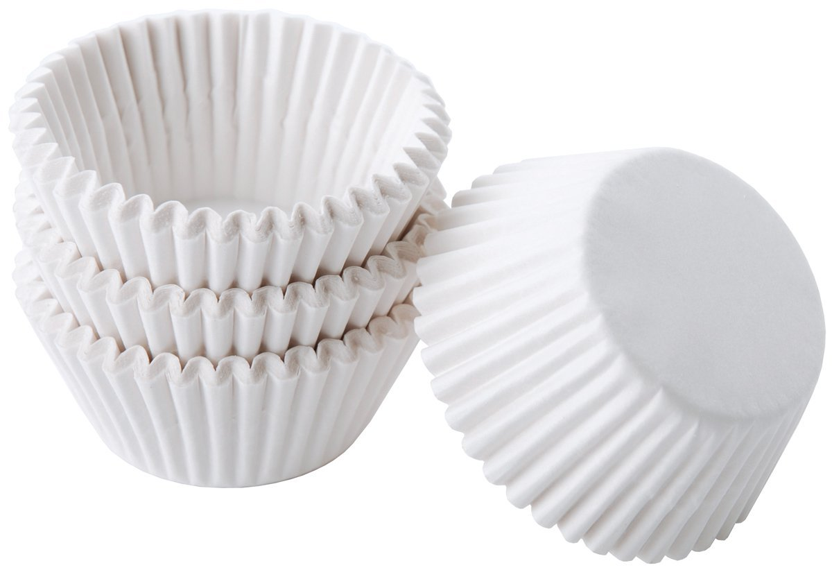 Details About Wilton Cupcake Liners White 125 Inch Size 100 Pcs Muffin Decoration