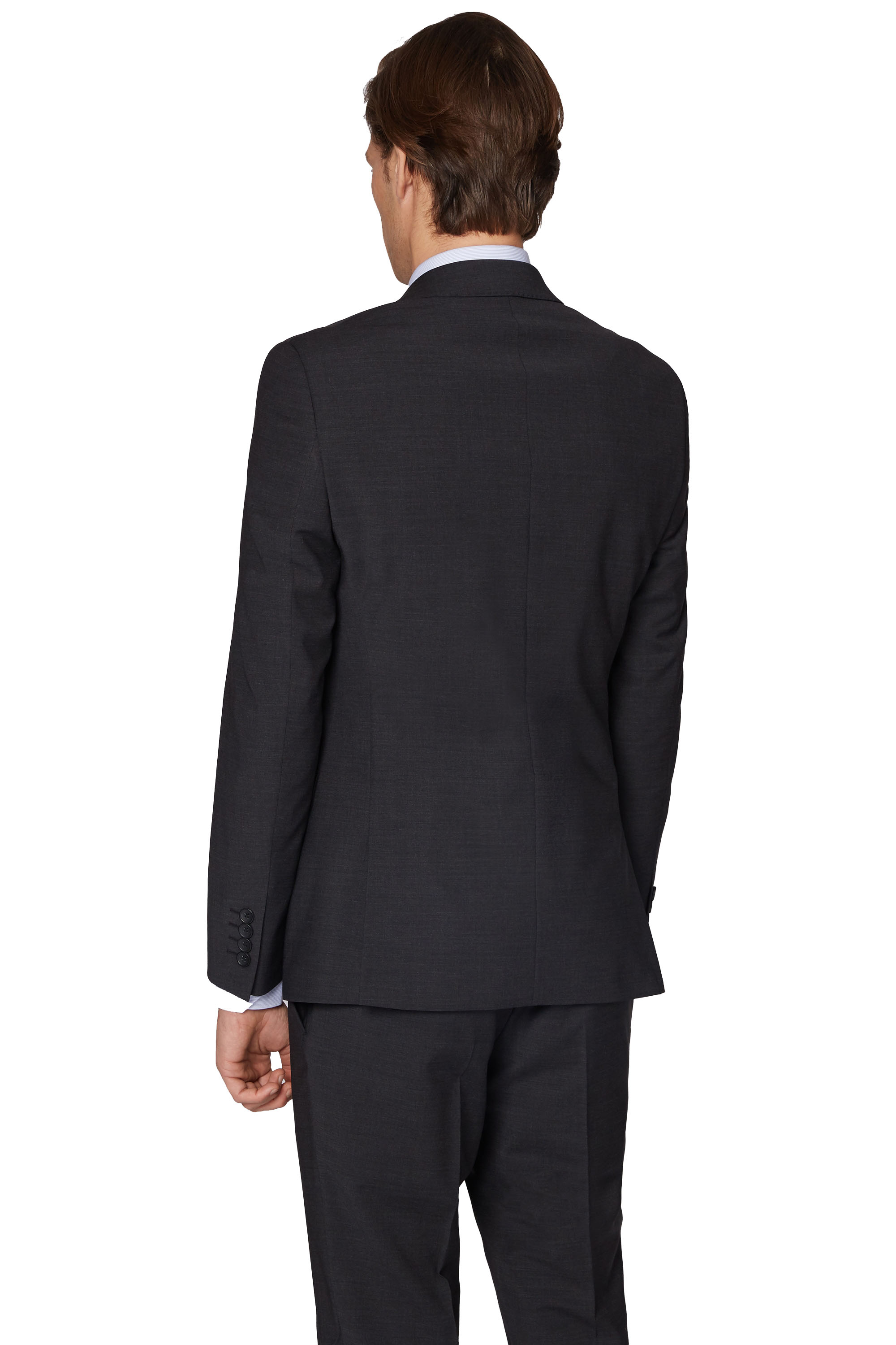 5c32cc9c8 Details about Moss London Performance Mens Charcoal Grey Suit Jacket  SkinnyFit Single Breasted