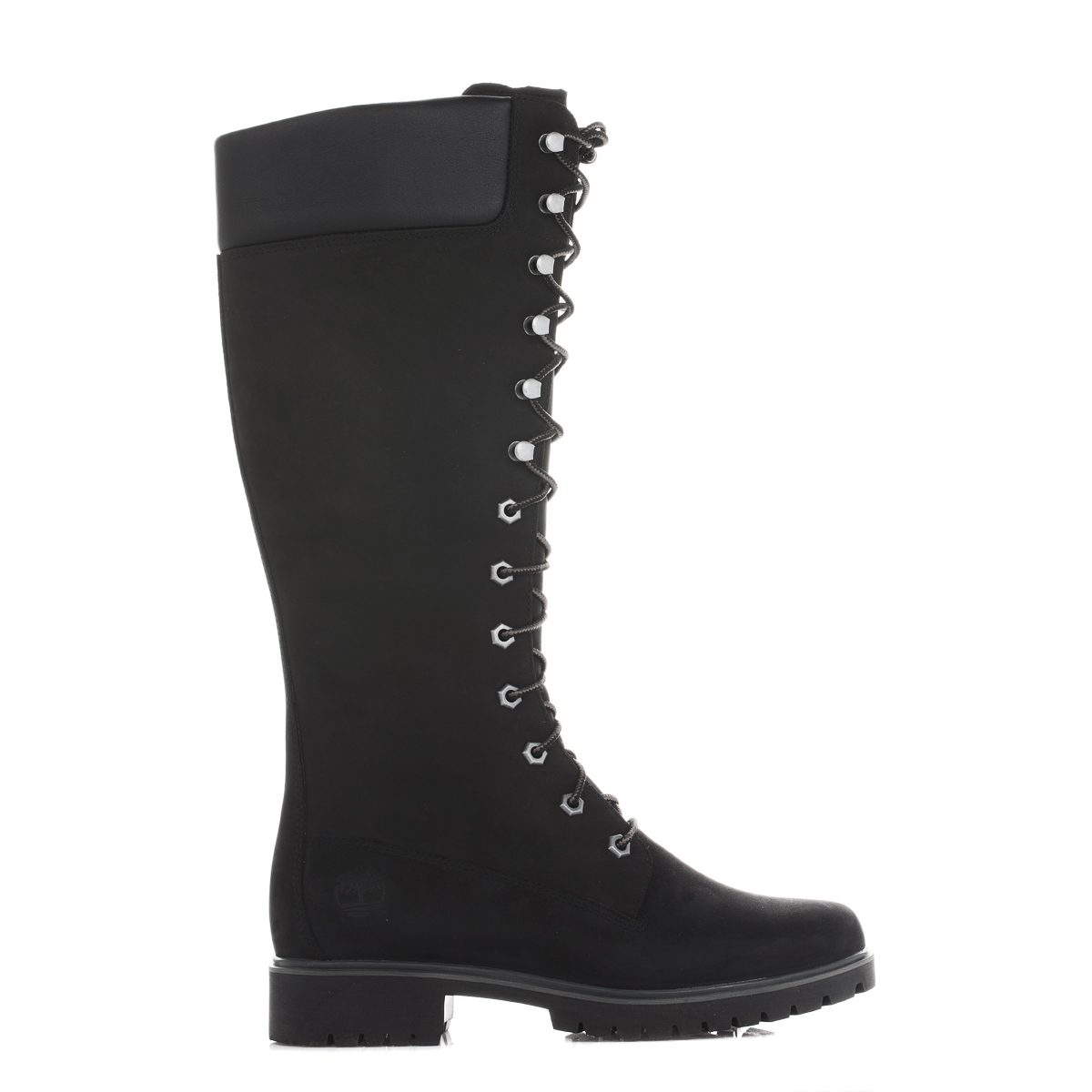 Timberland Womens Ladies Lace Up Black Premium 14 Inch Tall Boots Shoes  C8167R ce96e198ed