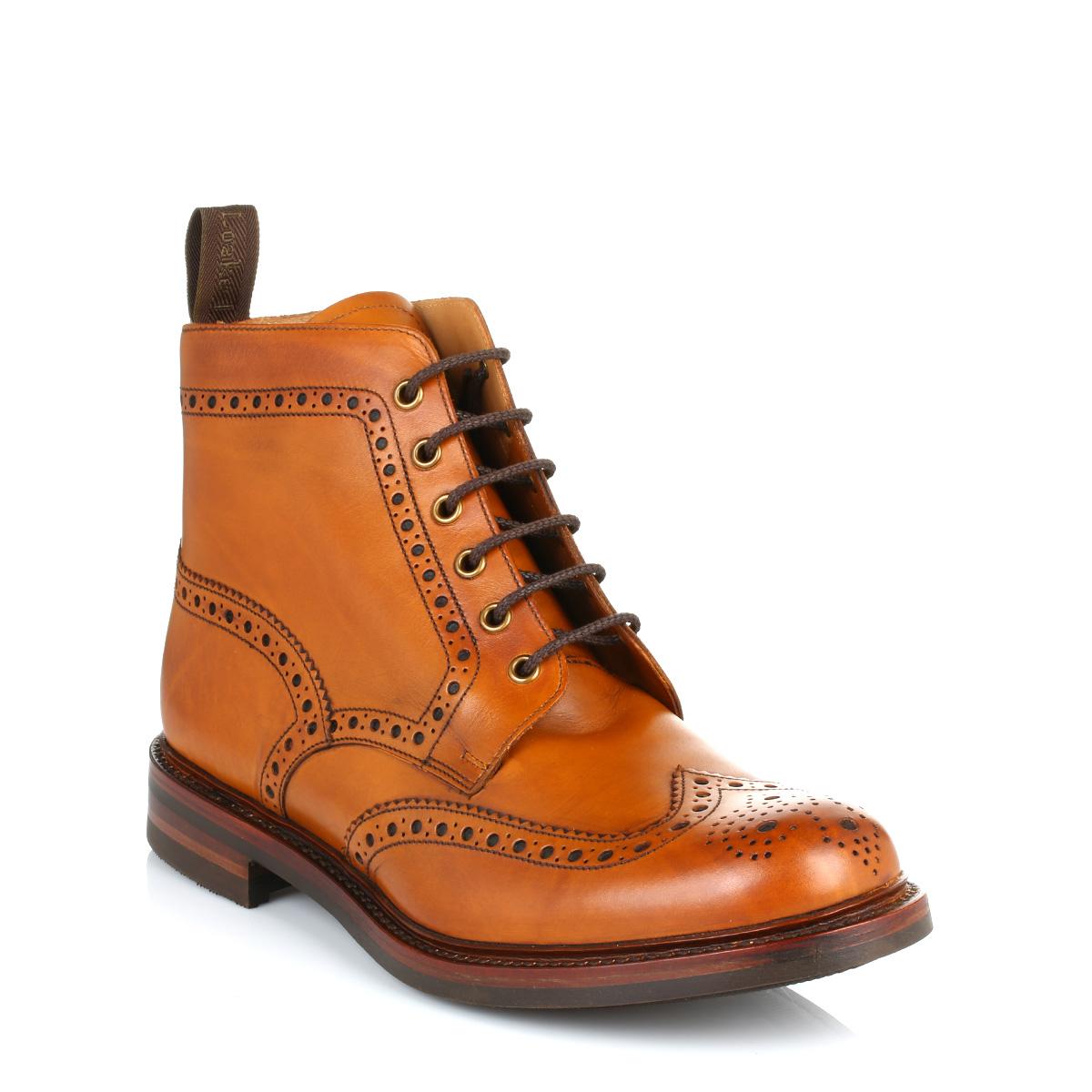 Light Brown Brogue Shoes