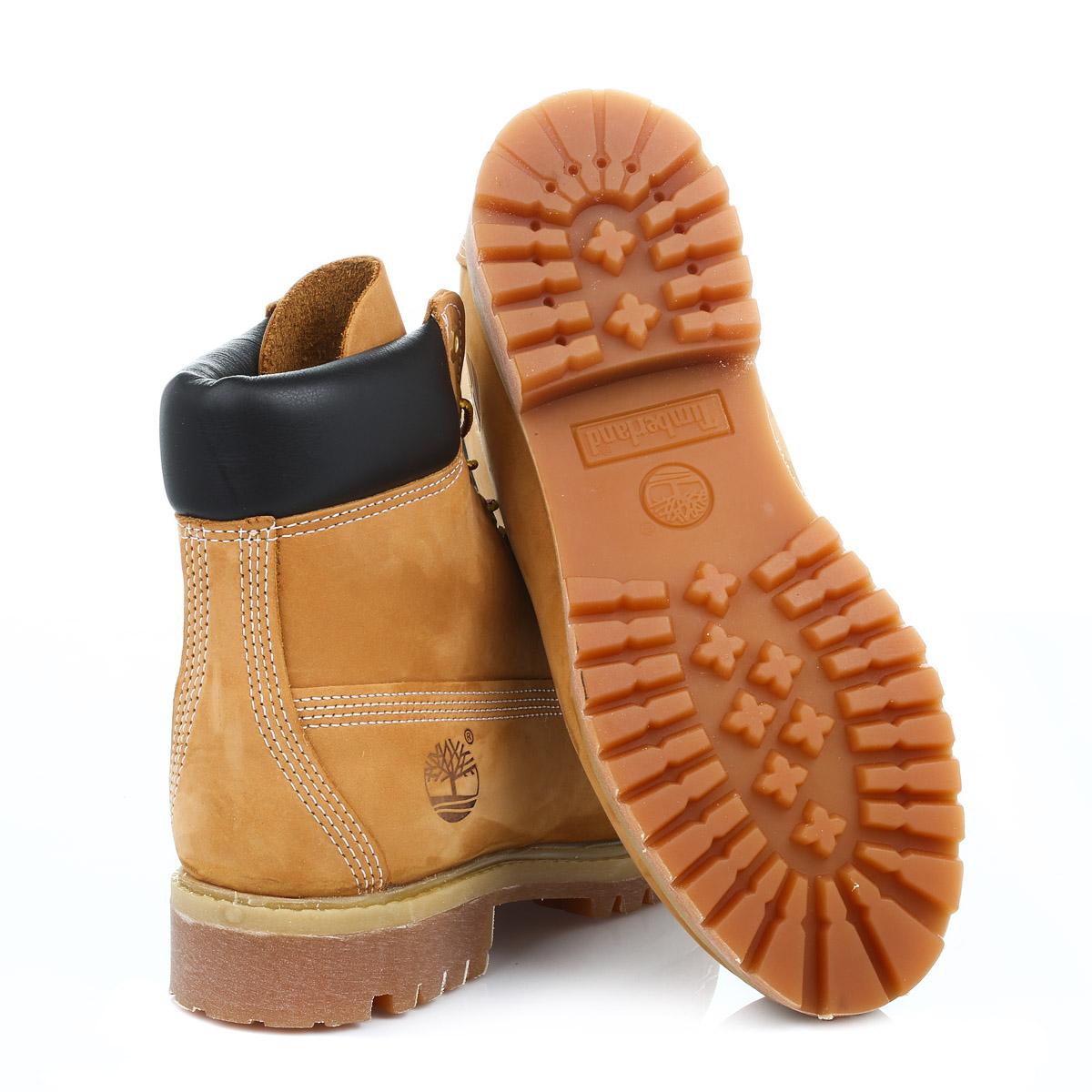 Timberland Mens Premium Grano 6 Pollici Stivali Di Pelle Nubuck AA2cs