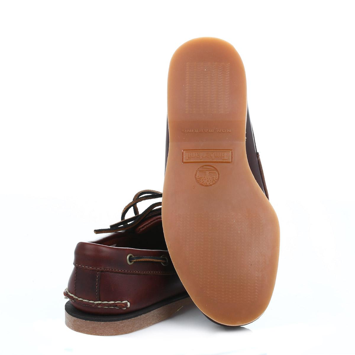 Mens Zapatos Del Barco Marrón Timberland uHrBbi