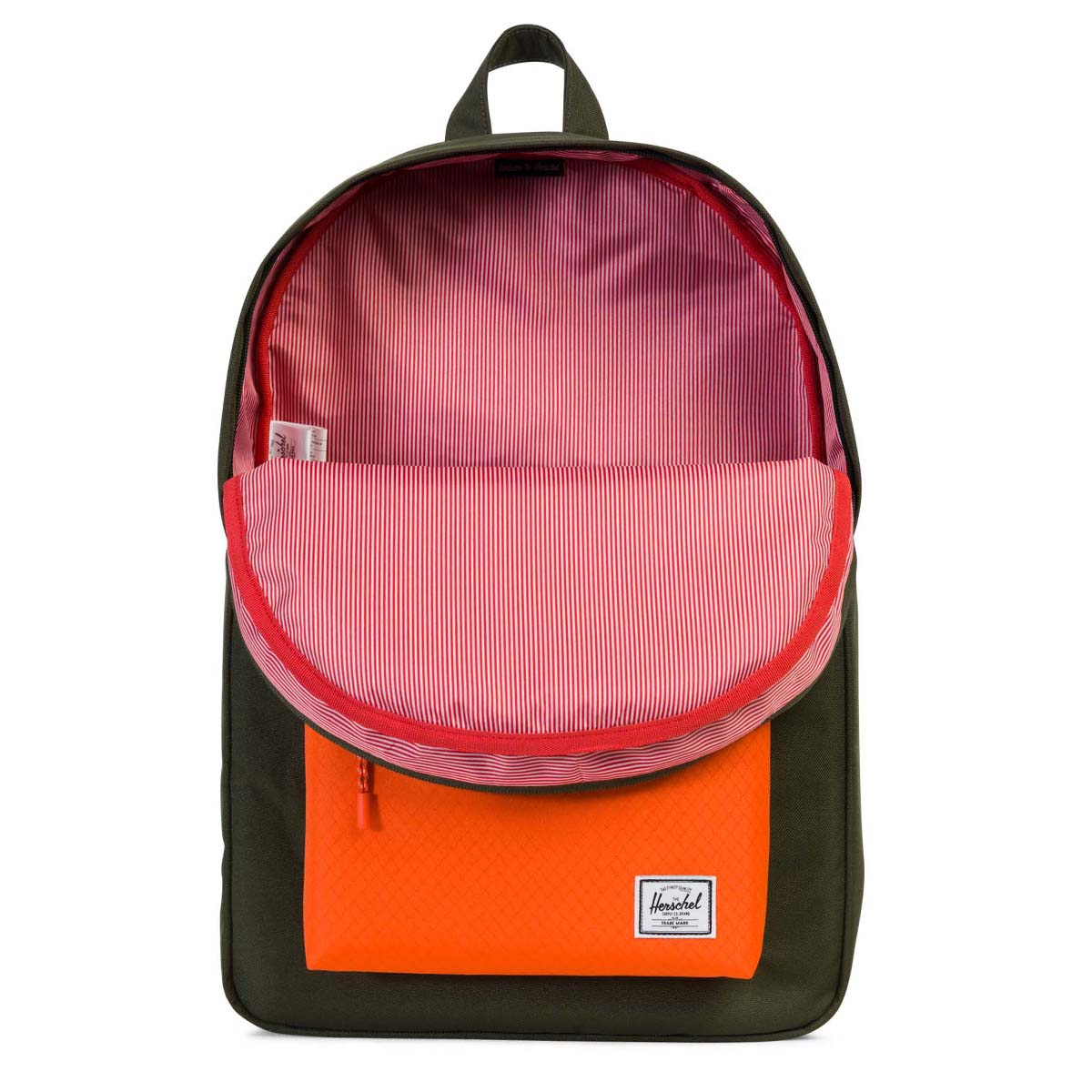 Gym Bag Herschel: Herschel Supply Co. Green & Orange Classic Backpack Unisex