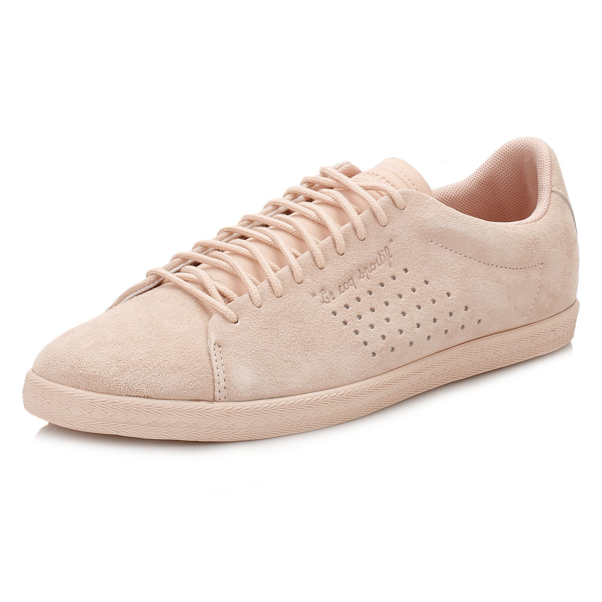 LE COQ SPORTIF Charline Suede Leather Trainers sale for nice shop cheap price with paypal countdown package cheap visit 1y4EVVlwp