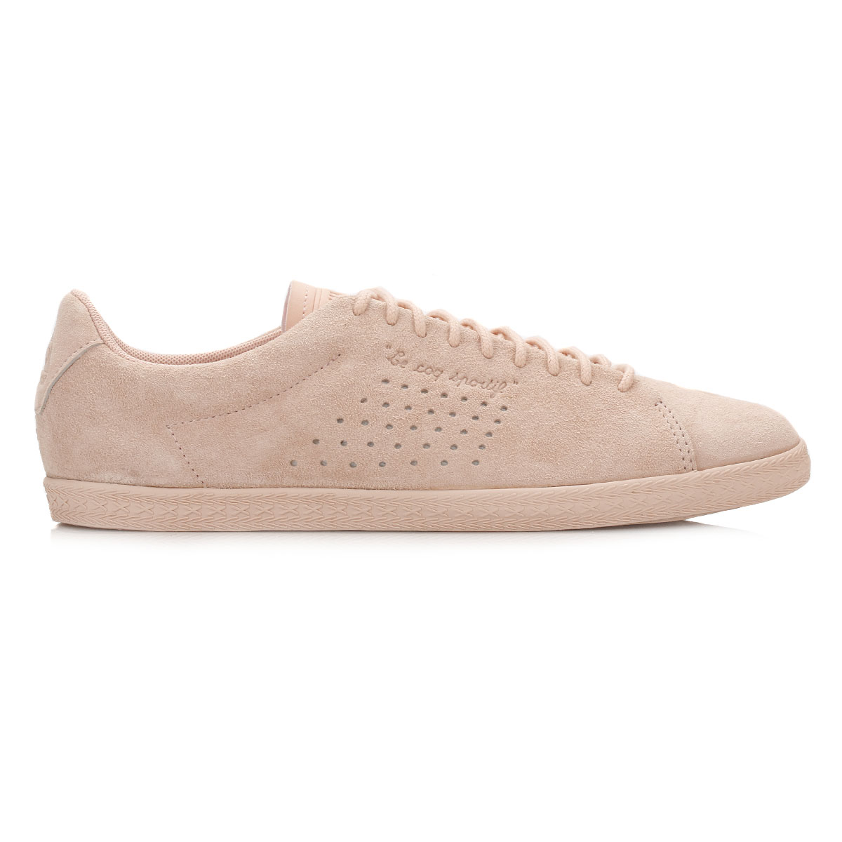 new style 2ecb8 9b0fc Le-Coq-Sportif-Womens-Charline-Trainers-White-or-