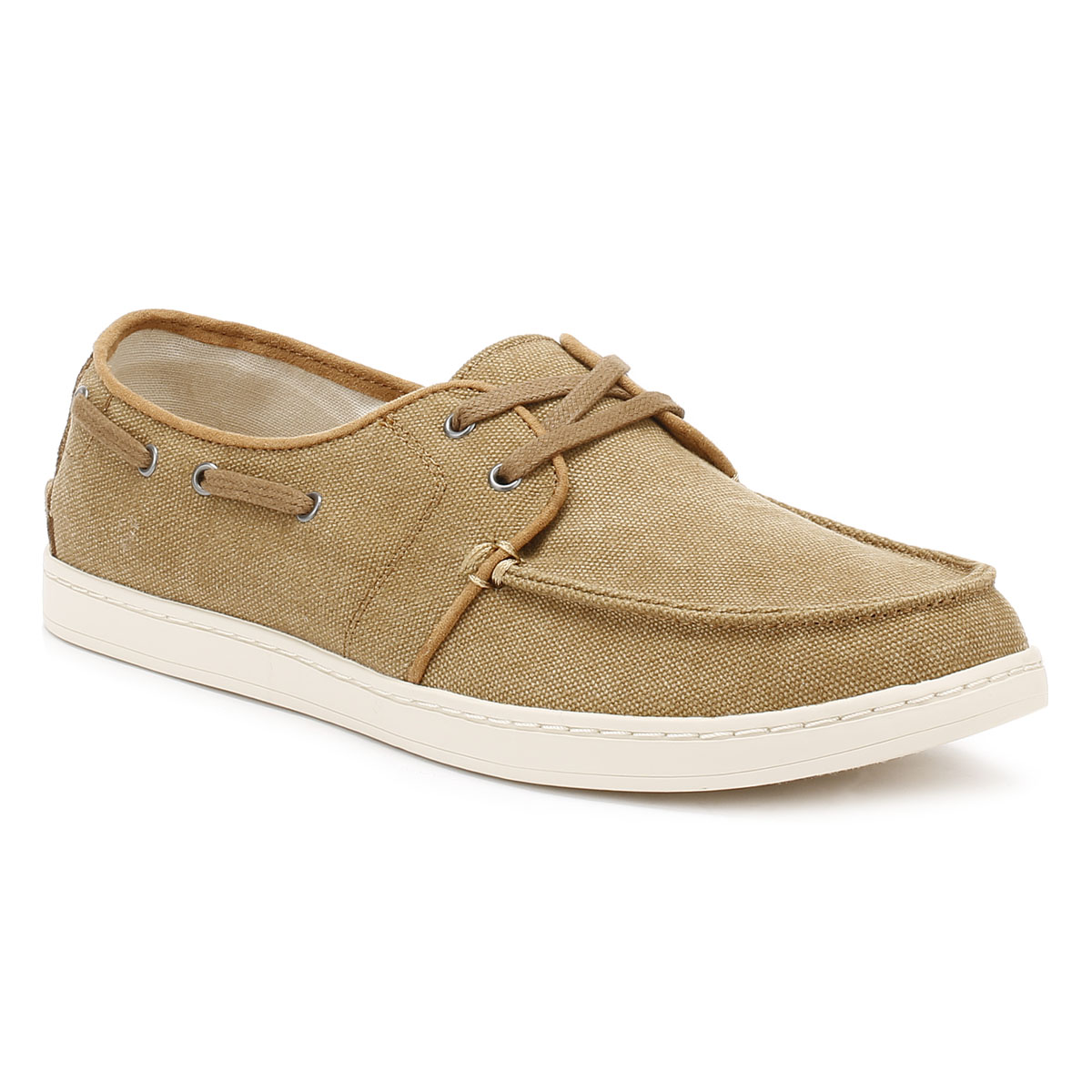Mens Canvas Boat Shoes Uk