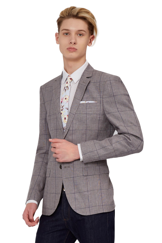 gb online herringbone store suitsupply gray grey suit suits en light havana