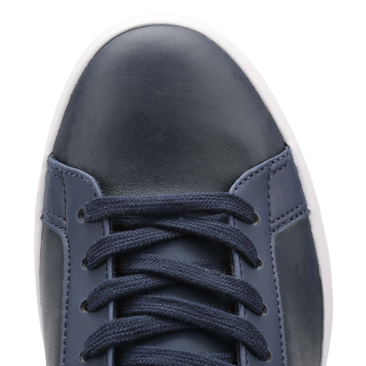 Lacoste White, Mens Lerond BL1 CAM Trainers, Navy Blue or White, Lacoste Lace Up, Casual Shoes 8644d1