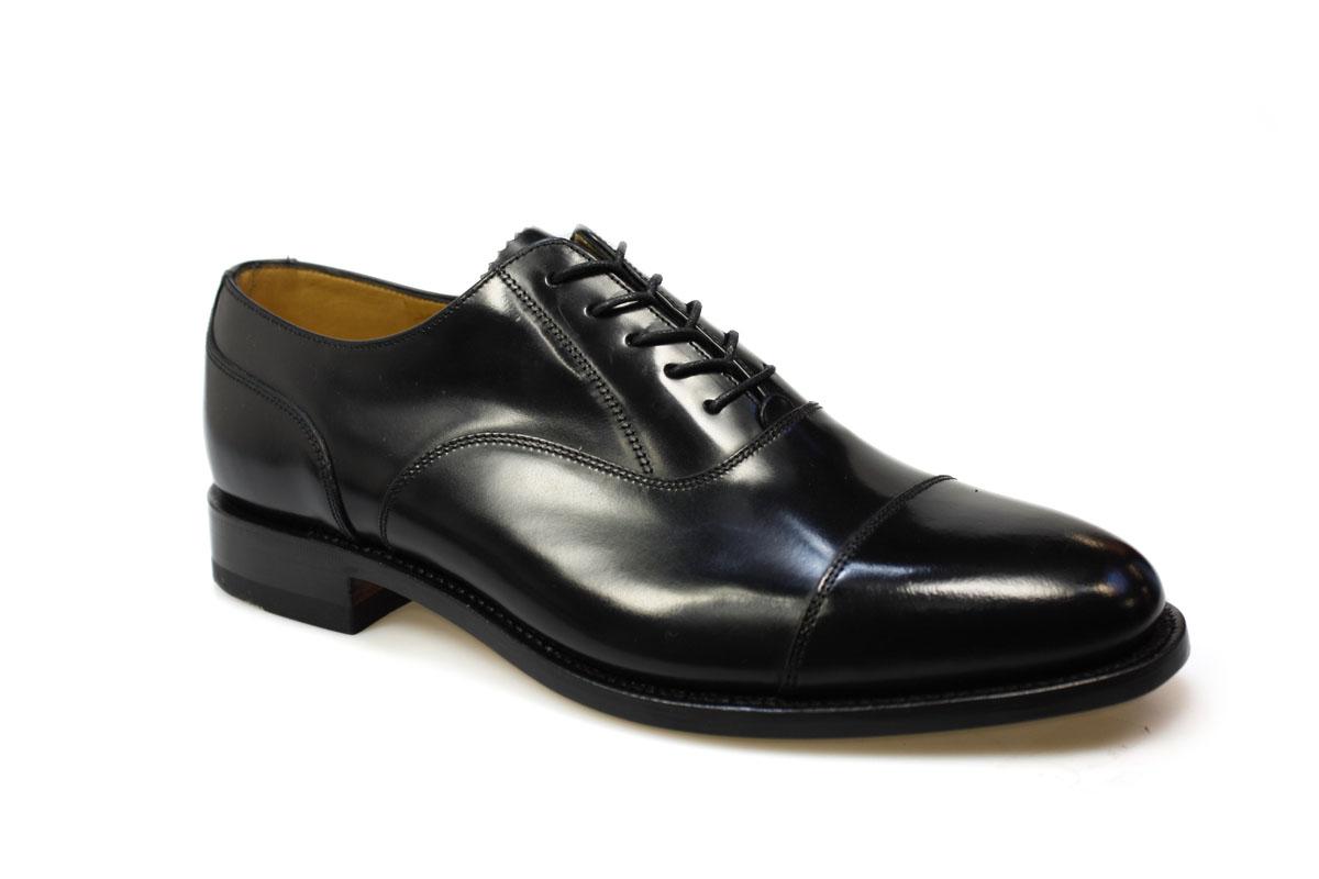Loake Mens 200B Formal Black Oxford