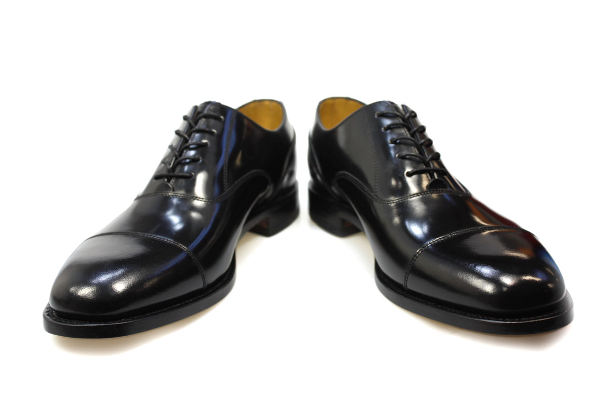 9c8983b0 Loake Mens 200B Formal Black Oxford Shoes, Polished Leather, Goodyear Welted