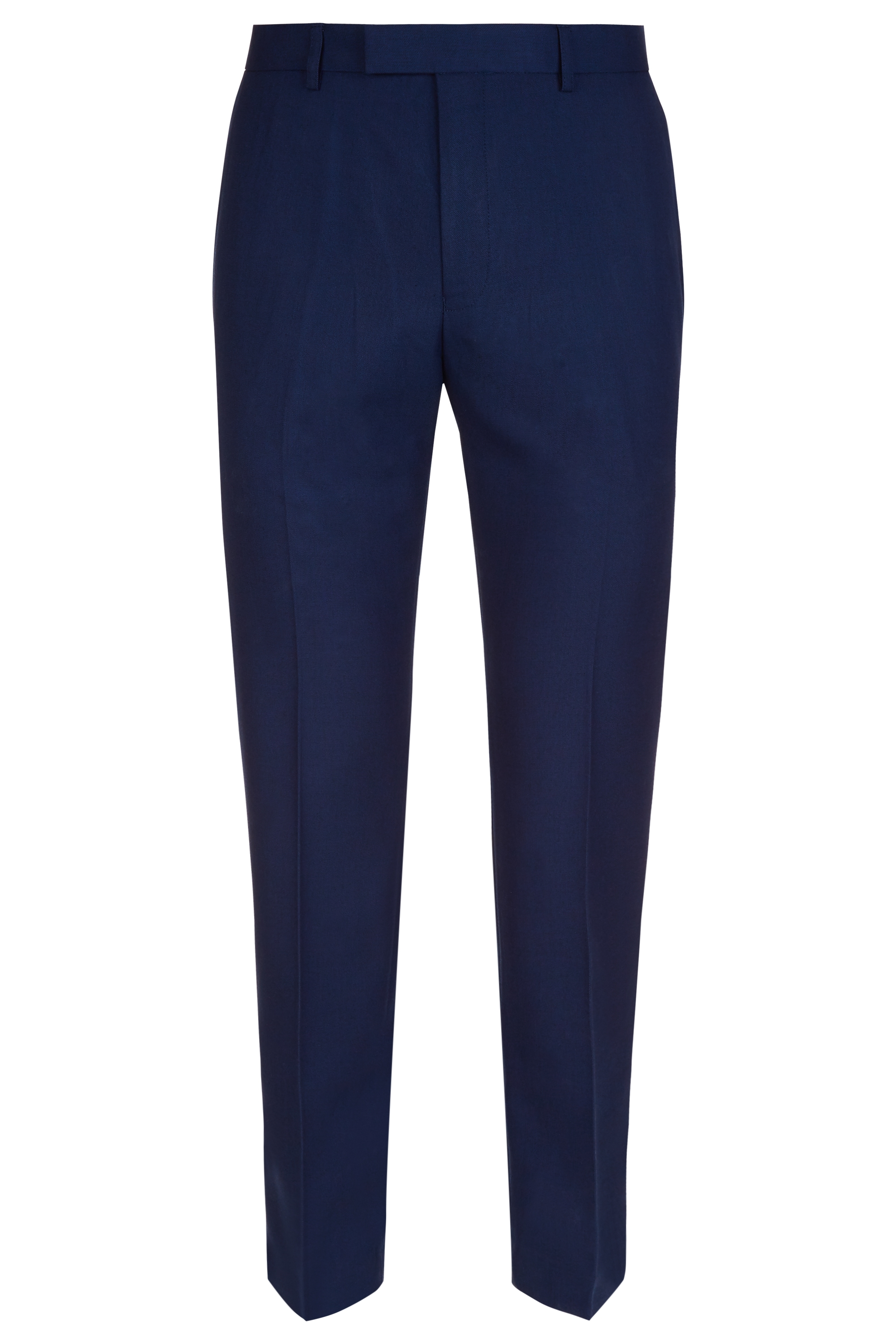 4c7ffc68f8cc8 Moss Esquire Mens Navy Blue Suit Trousers Slim Fit Pleated Formal ...