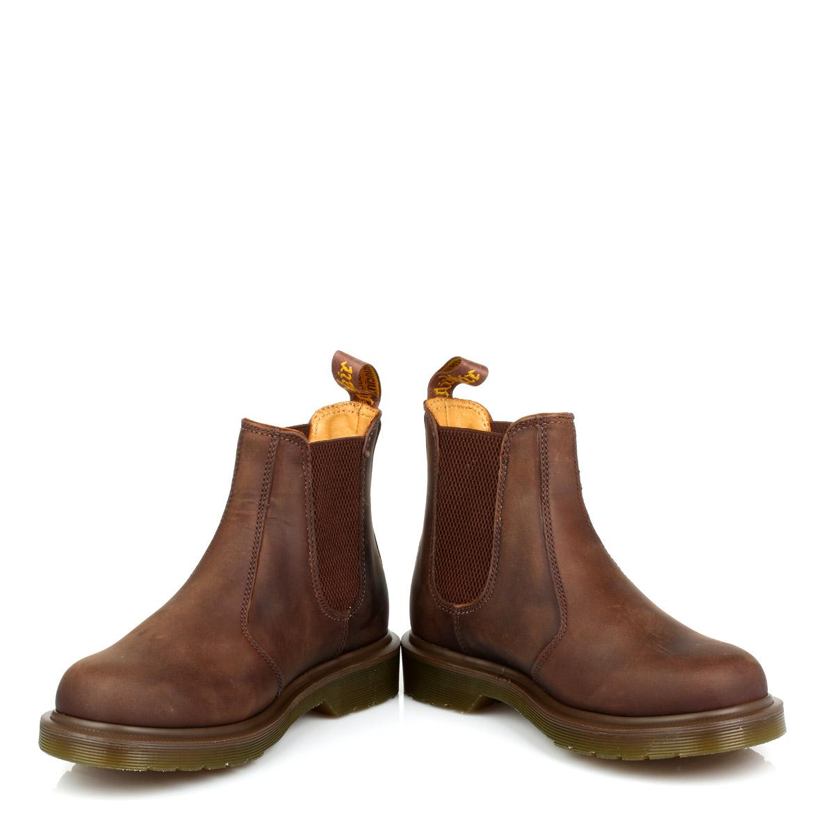 DR MARTENS UNISEX Docs Brun Horse SETTIMO Gaucho Crazy Horse Brun alla Caviglia Chelsea Pull On Scarpe e3c9d6