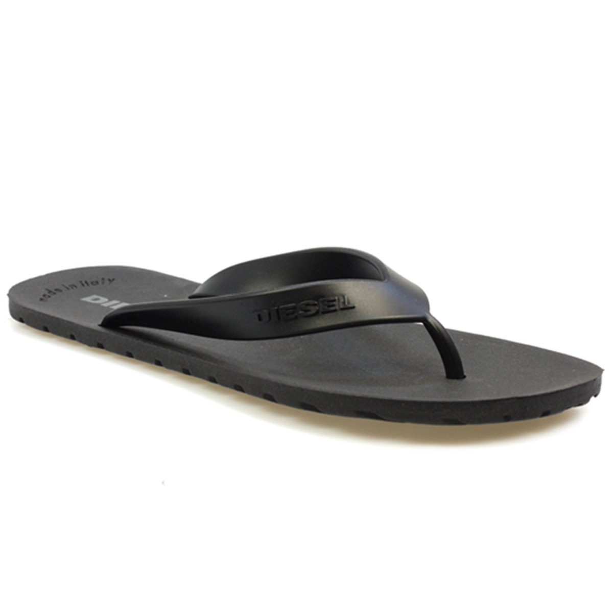 Diesel Flip Flops in Black shopping online cheap price outlet amazon clearance latest collections find great for sale free shipping wholesale price lMzYpFMZU