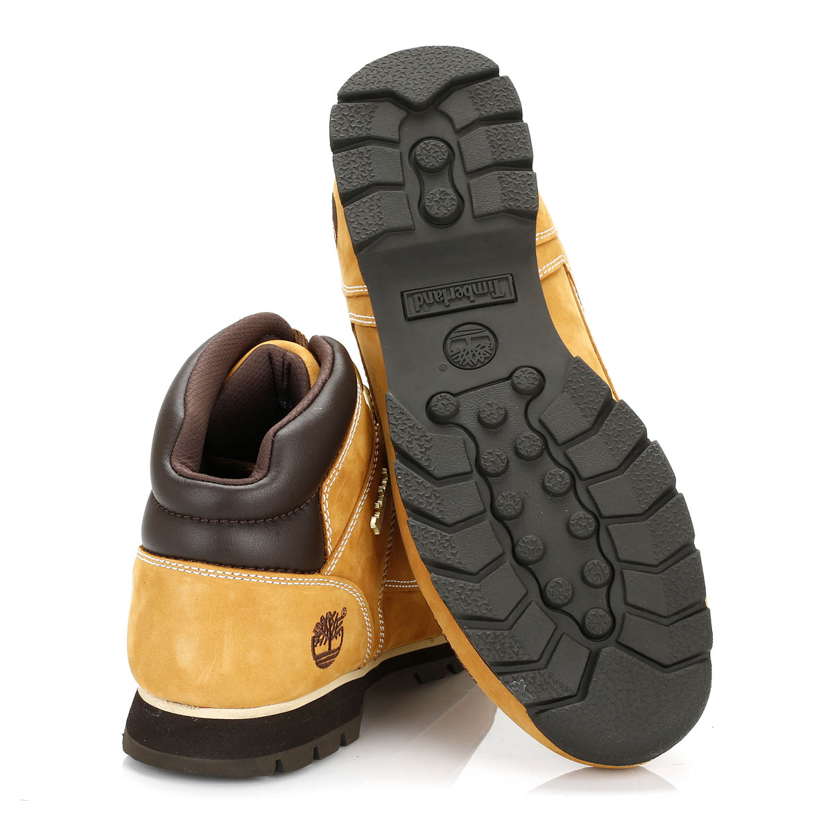 Timberland Mens Euro Sprint Hiker Boots Black Or Wheat