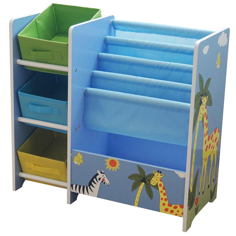 Childrens Book Display Toy Box Storage Wooden Bookcase Safari Ebay  sc 1 st  Euffslemani.com & Book And Toy Storage Unit | Euffslemani.com
