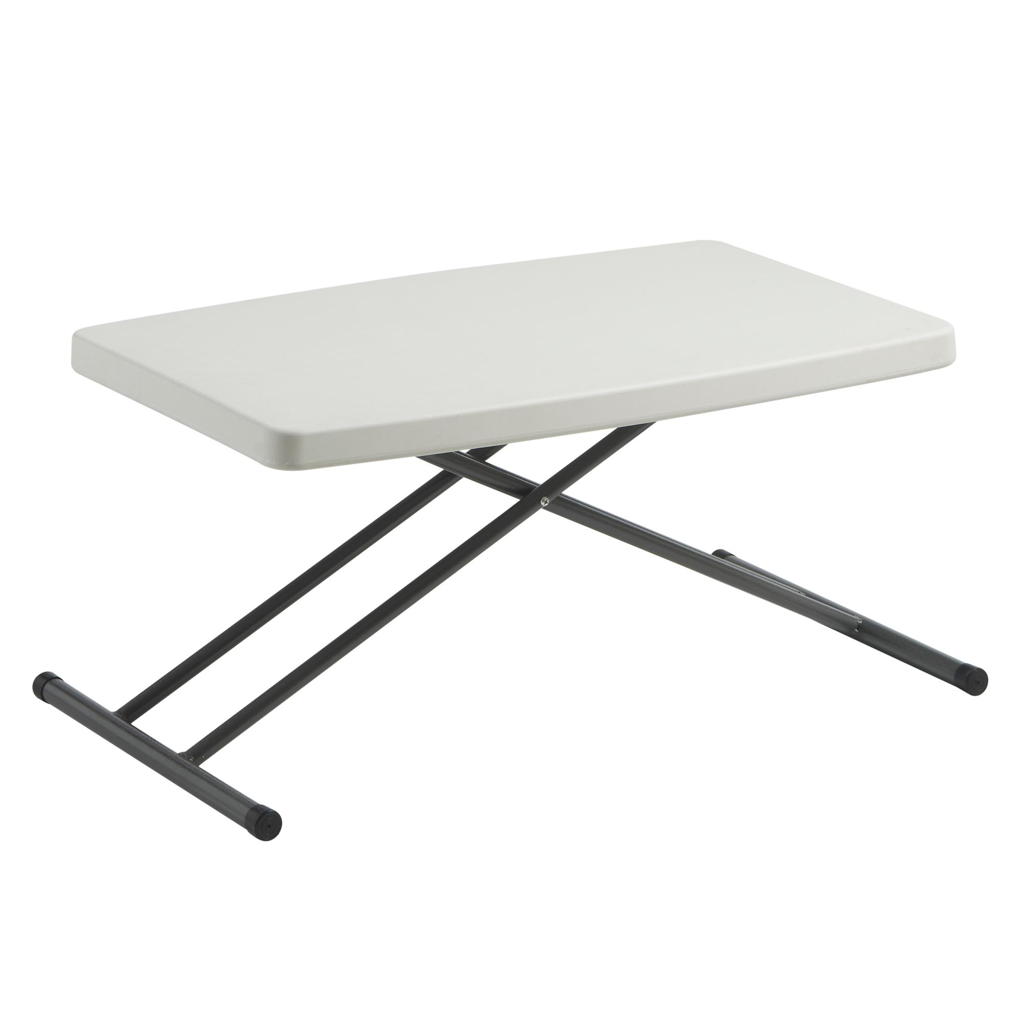 Sentinel VonHaus 2.5ft (0.77m) Adjustable Height Folding Trestle Table