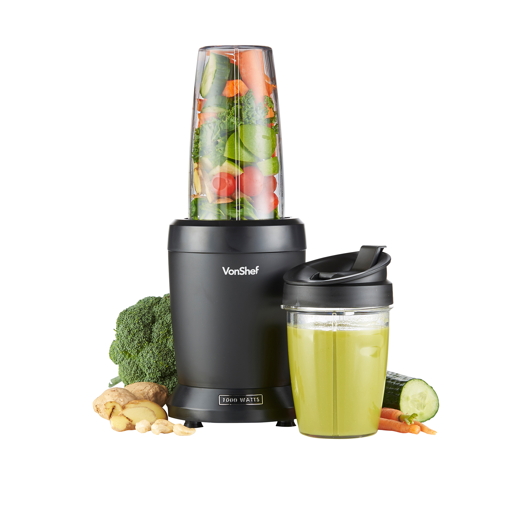 vonshef 1000w ultrablend extractor blender nutrition juicer smoothie mixer 689994344125 ebay. Black Bedroom Furniture Sets. Home Design Ideas