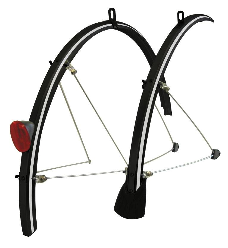 Tortec Front Rear Reflector Mud Guard Set Bike Bicycle Cycle