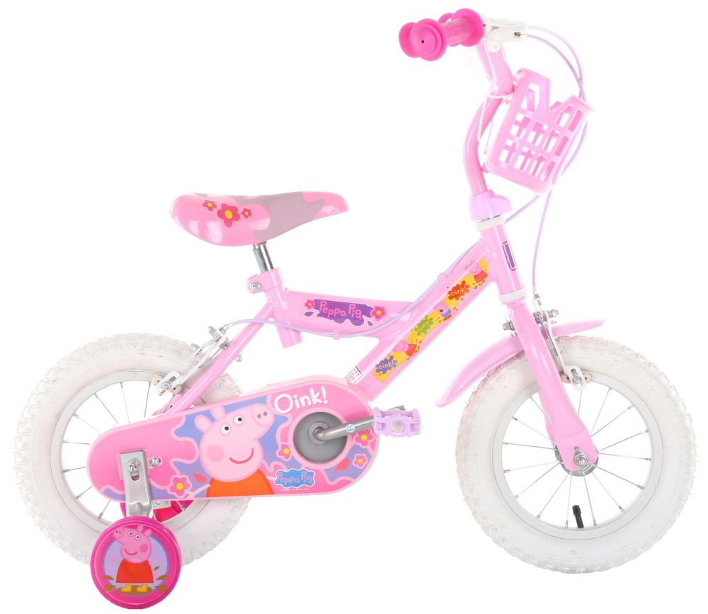 Peppa Pig Girls Bike Bicycle 12 Inch Wheels Caliper Brakes Steel