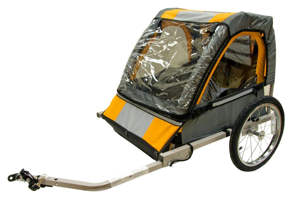 Halfords Bicycle Trailer Bike Jogger Double Buggy Seat For