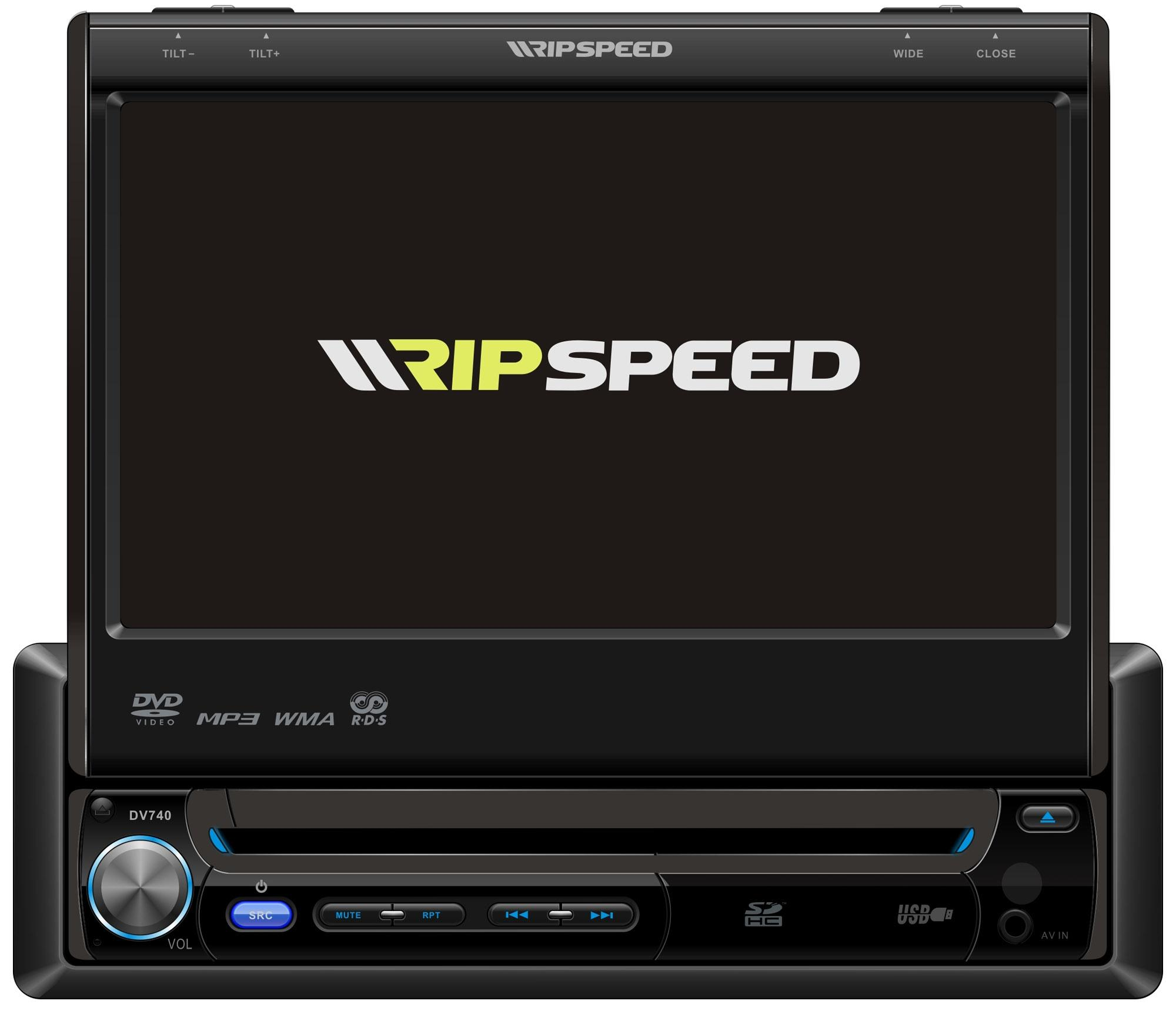 Ripspeed Refurbished DVD740 In-Dash Car Stereo Radio DVD
