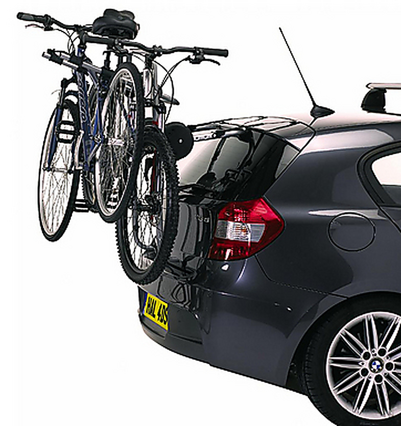Exodus Rear Rack Car High Mount 3 Cycle Bike Carrier