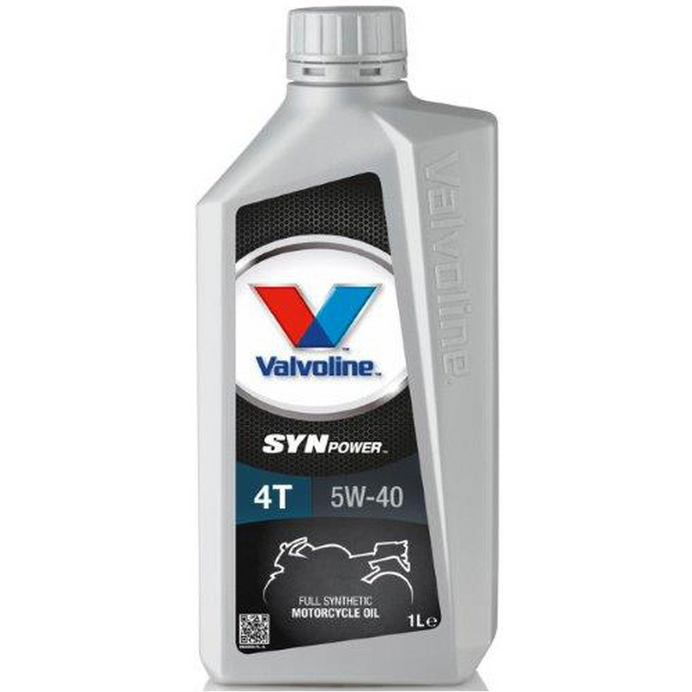 Valvoline synpower 4t 4 stroke fully synthetic motorcycle for 5 w 40 motor oil