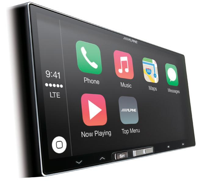 alpine ilx 700 car stereo 7 touch screen apple carplay. Black Bedroom Furniture Sets. Home Design Ideas