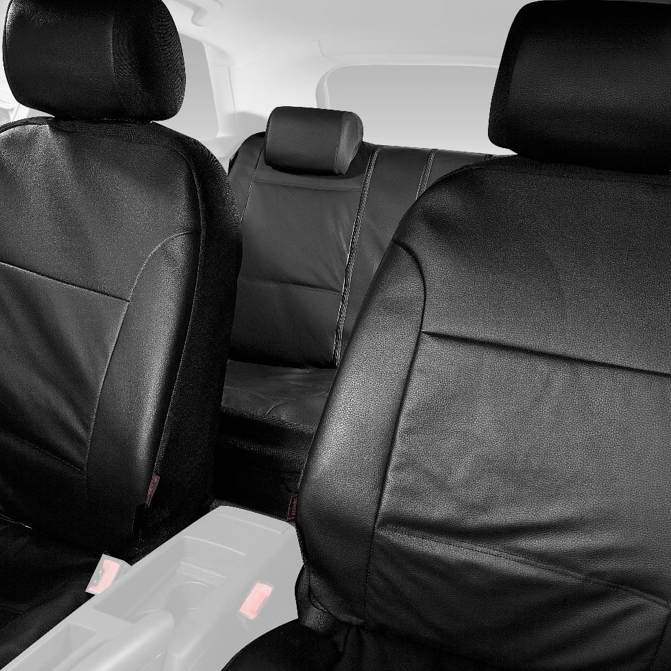 Halfords Advanced Leather Look Car Seat Protectors Covers
