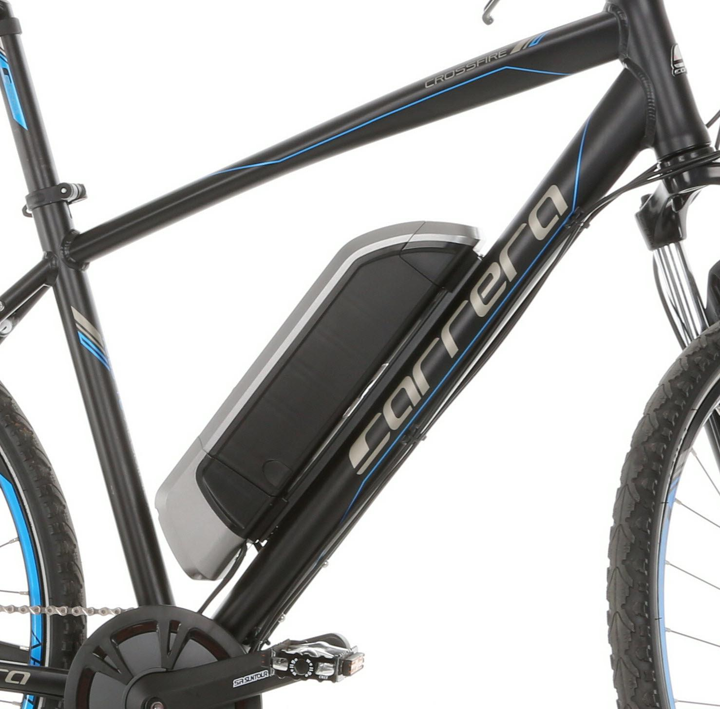Carrera Crossfire E Mens Electric Battery Power Ebike Motor Bike