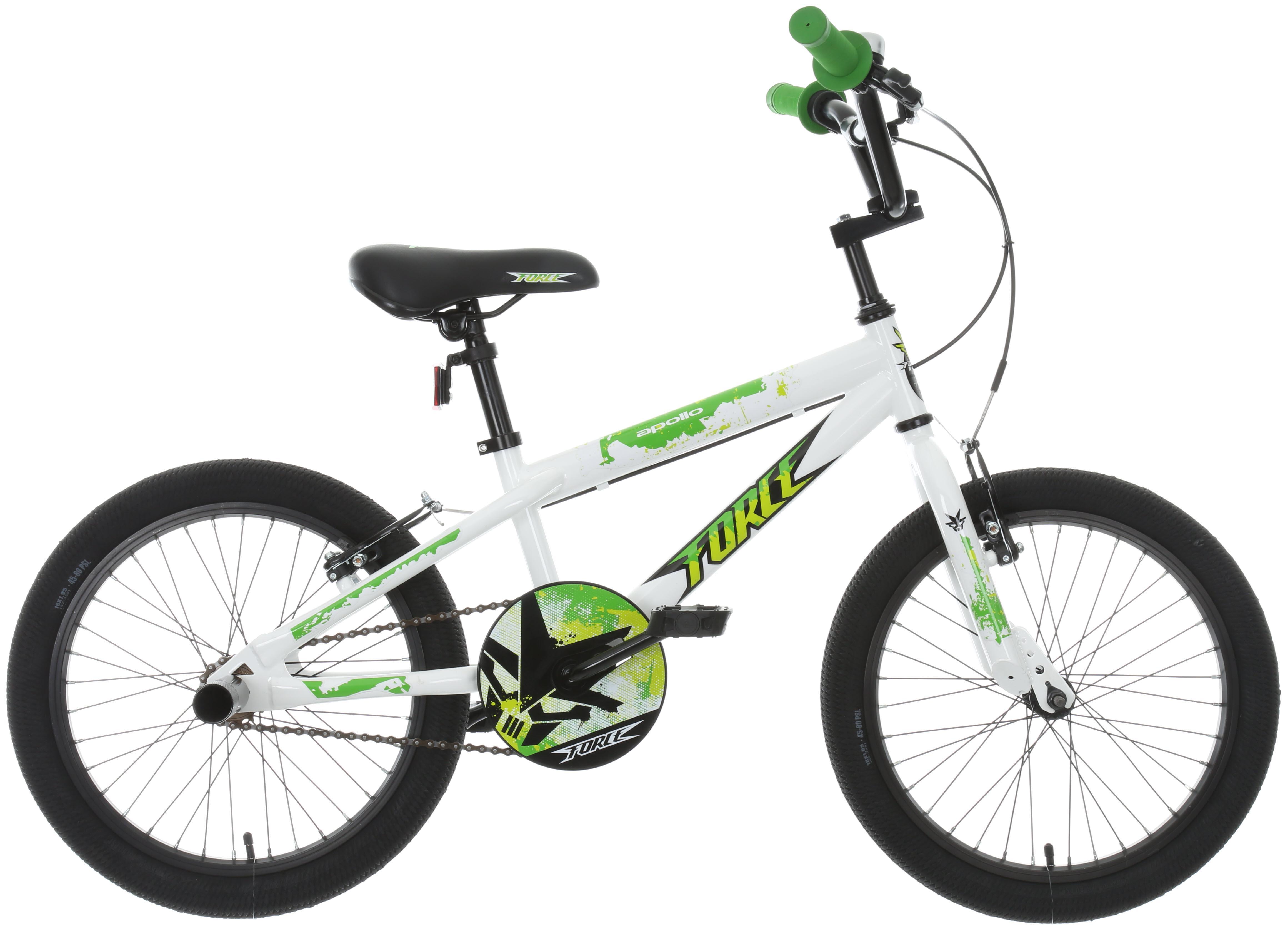 Apollo Force Kids BMX Style Bike Bicycle Steel Frame V Brakes 18 ...