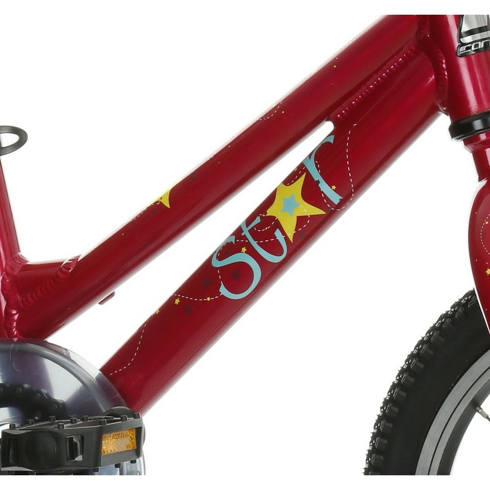 Carrera Star Girls Kids Bike Bicycle 14 Inch Wheels Alloy Frame V