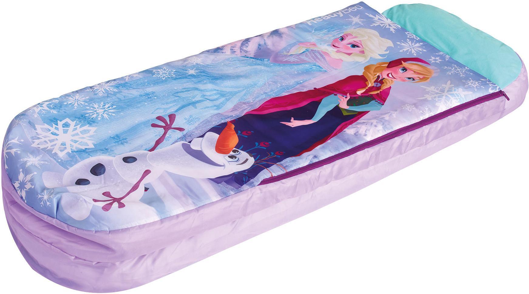 Kids Child Junior Girls Camping Sleepover Airbed Sleeping Bag Ready Bed Frozen