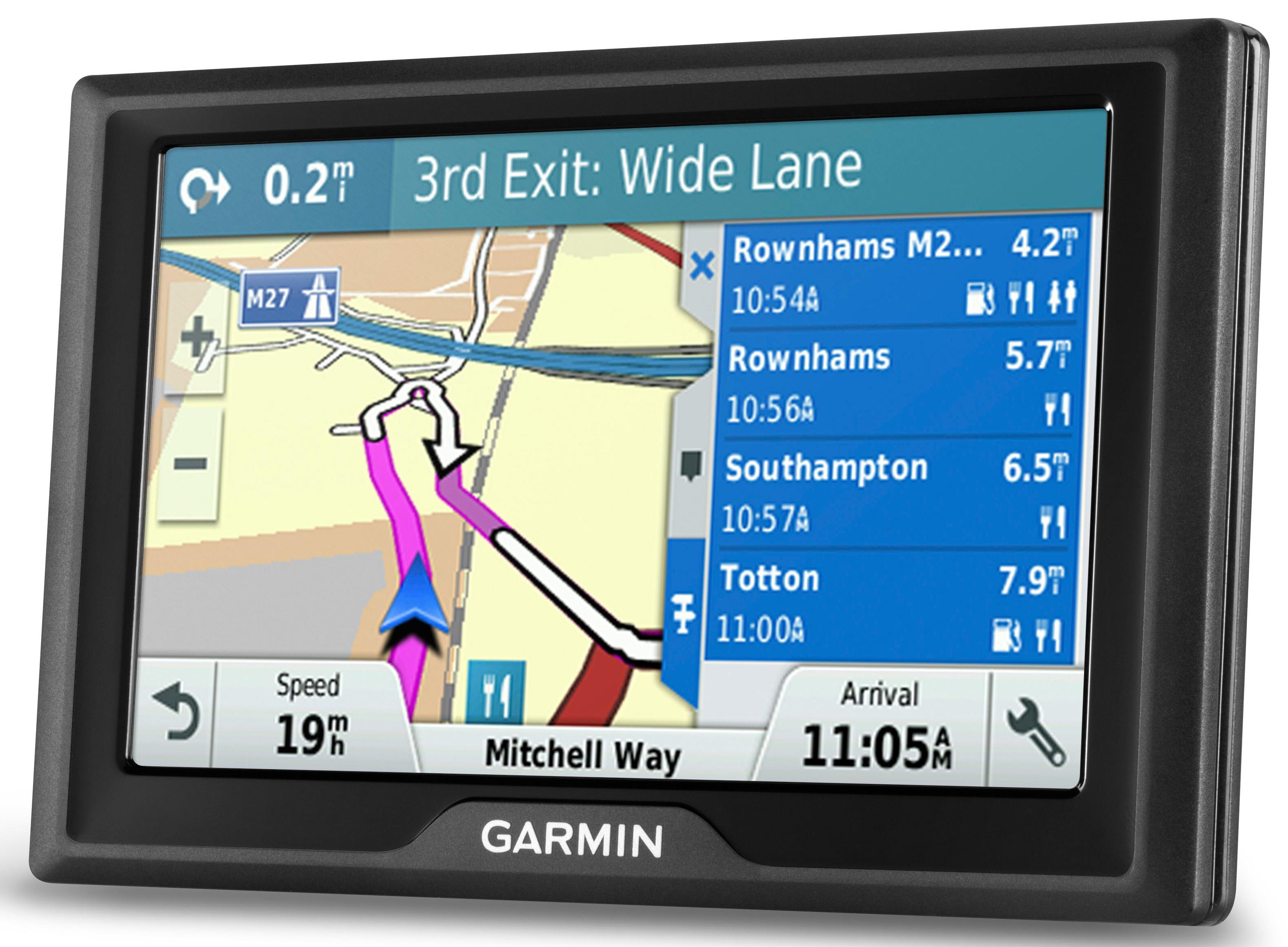 garmin drive 50 lm sat nav gps uk roi ireland western europe lifetime map maps ebay. Black Bedroom Furniture Sets. Home Design Ideas
