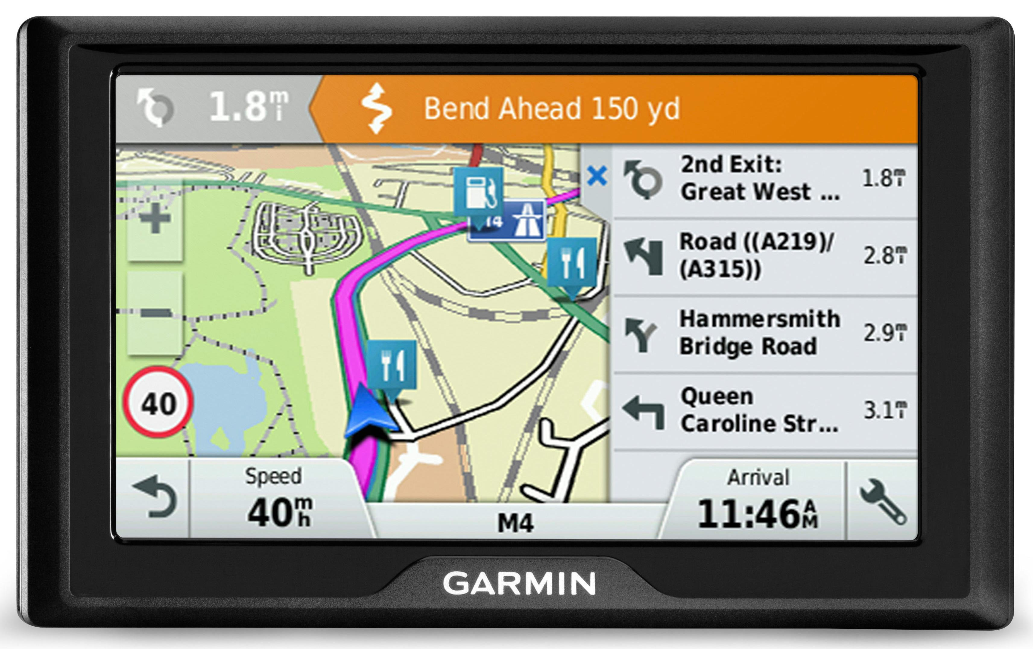 224656a Sat Nav With Uk And Usa Maps on