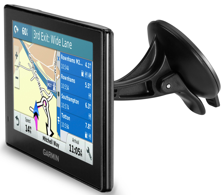 Garmin DriveSmart LMTD Sat Nav GPS UK ROI Full Europe Lifetime - Garmin maps for united kingdom