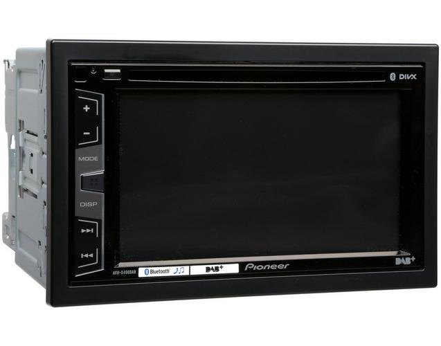 pioneer avh x490dab car stereo with bluetooth double din