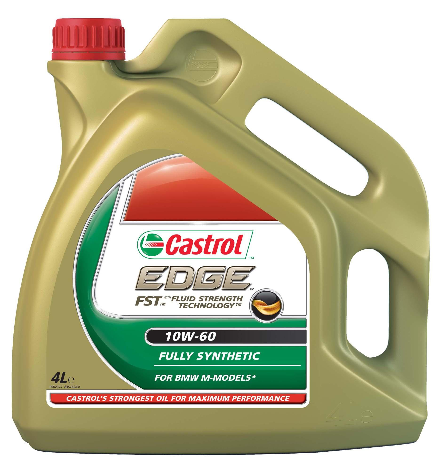castrol edge sae 10w 60 motor engine oil 4 litres fully synthetic bmw m series ebay. Black Bedroom Furniture Sets. Home Design Ideas