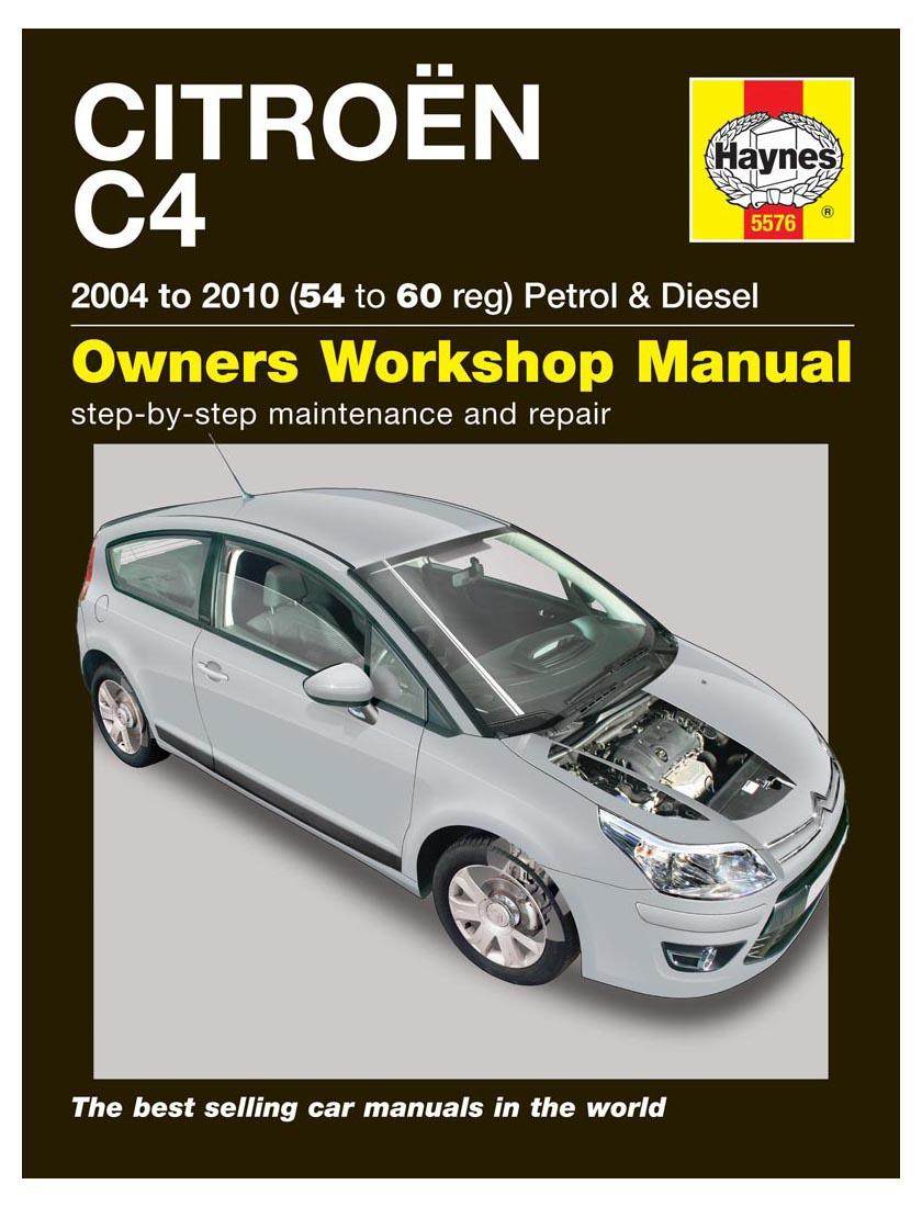 haynes owners workshop manual citroen c4 2004 2010 petrol diesel rh ebay co uk citroen c4 service manual citroen c4 service manual free download