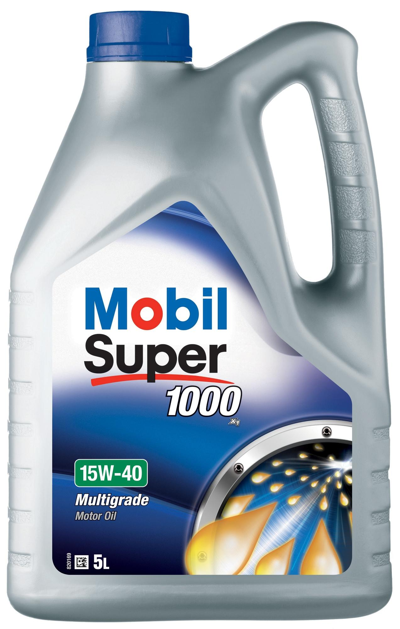 Mobil super 1000 x1 15w 40 engine motor mineral oil 5l for Cheap motor oil online