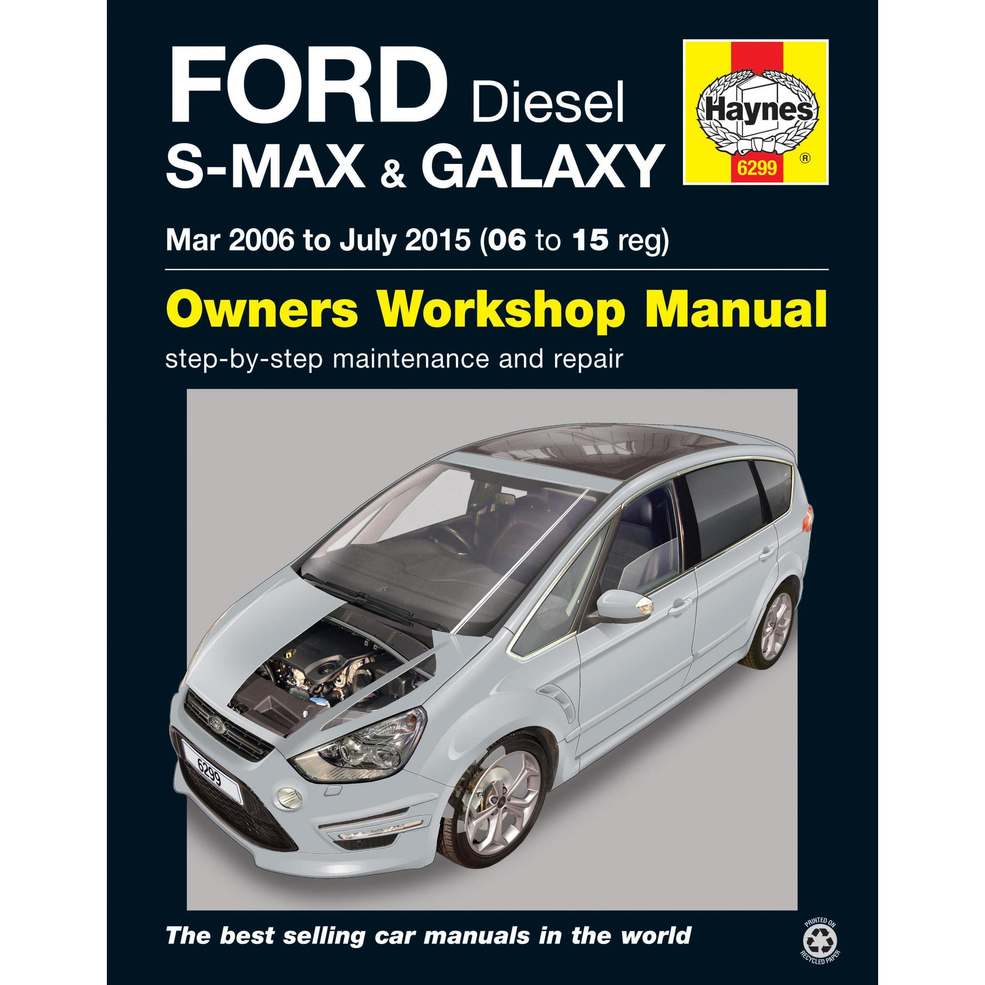 haynes owners workshop repair manual ford s max galaxy 2006 2015 turbo diesel ebay ford galaxy workshop manual download ford galaxy workshop manual free download