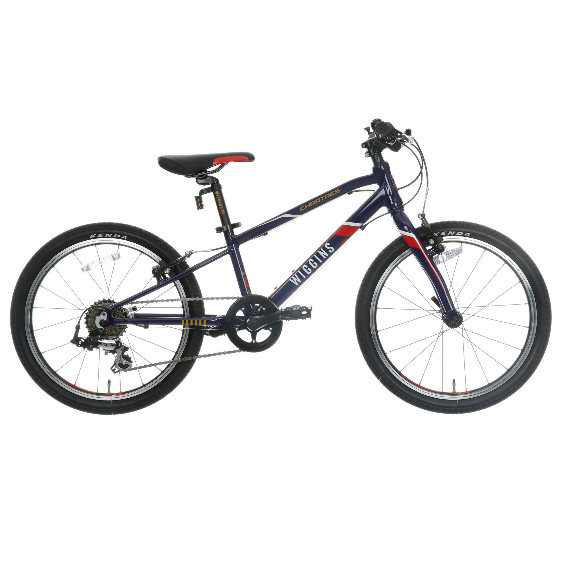 Wiggins Chartres Boys Girls Bike 7 Gears Shimano Alloy Frame 20 ...