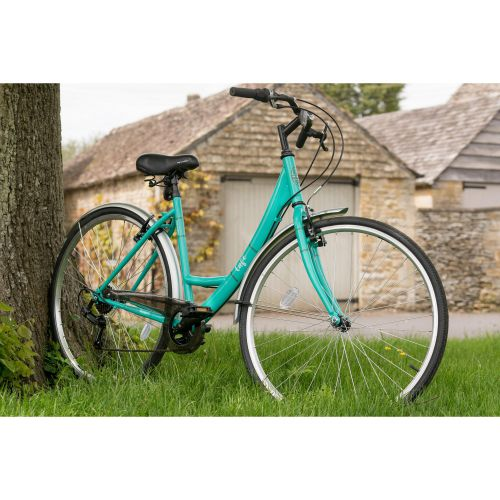 Apollo Cafe Womens Ladies Hybrid Bike Bicycle V Brakes 6 Gears