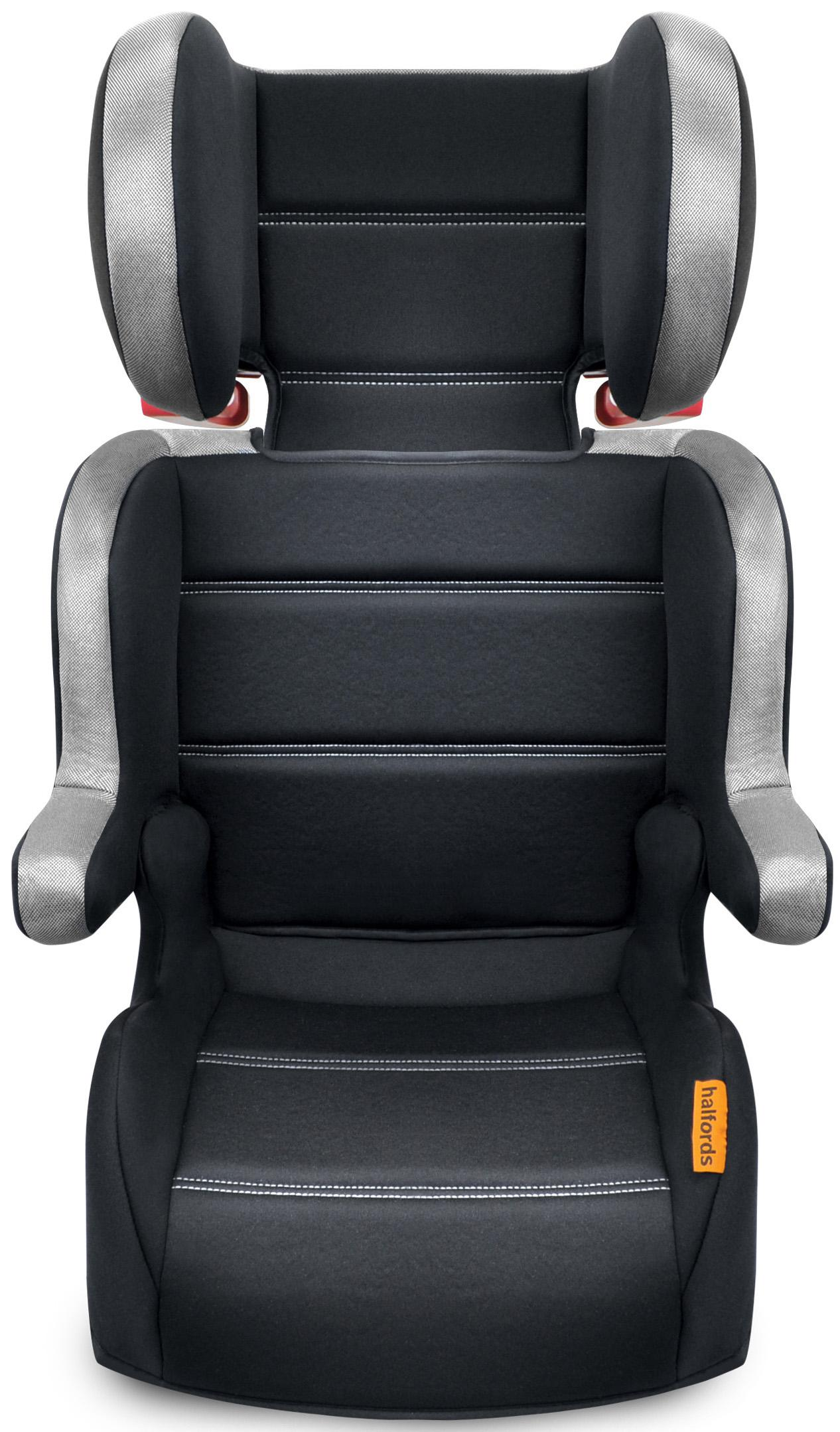 halfords kids child lightweight travel protector folding highback booster seat ebay. Black Bedroom Furniture Sets. Home Design Ideas