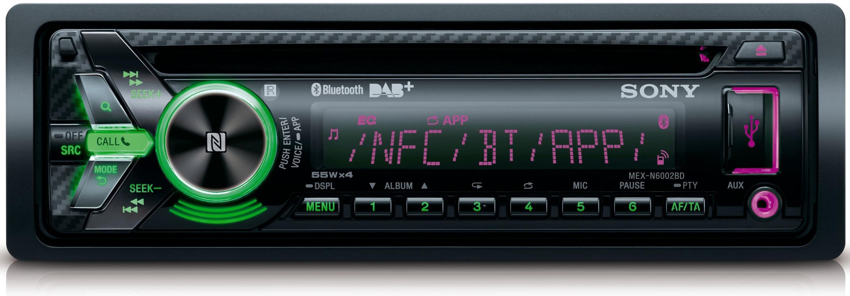 sony mex n6002bd dab dab radio usb cd receiver with bluetooth and nfc ebay. Black Bedroom Furniture Sets. Home Design Ideas