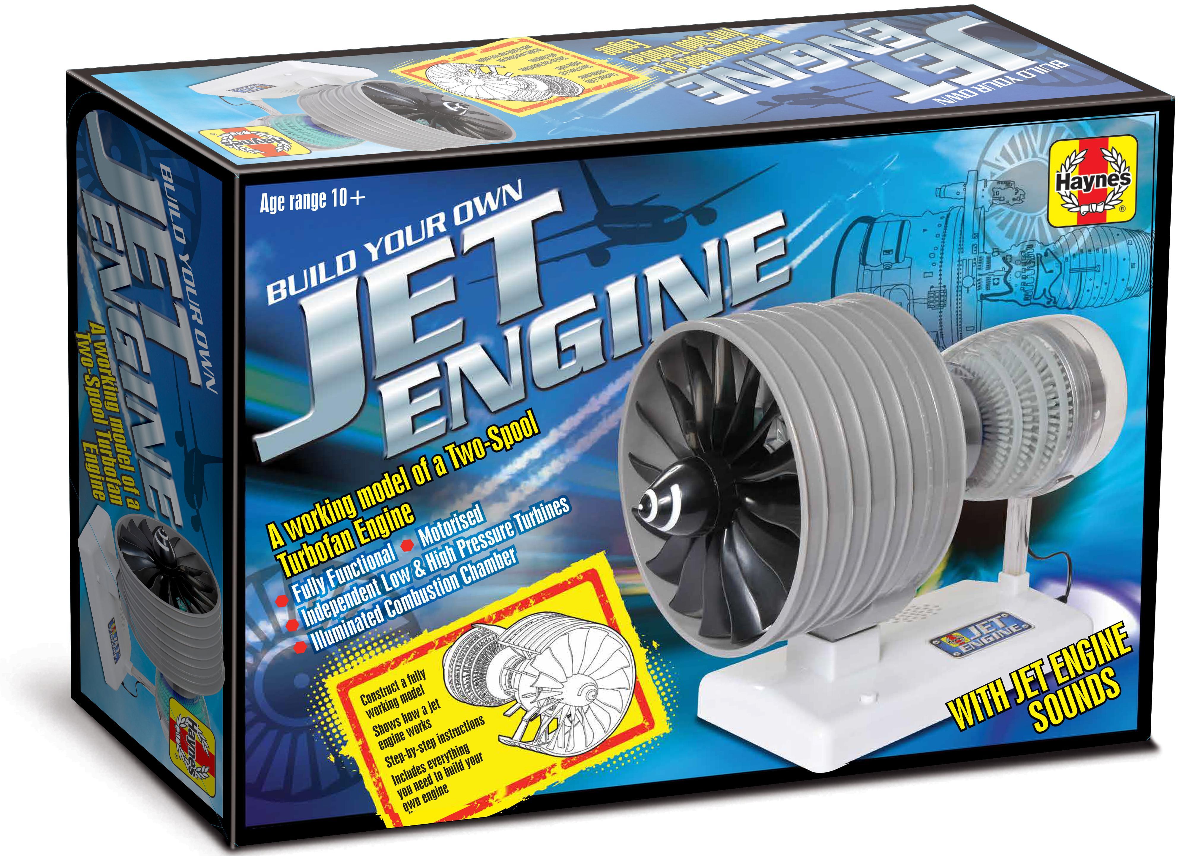 Haynes Jet Engine Motorised Low High Pressure Turbines Fully