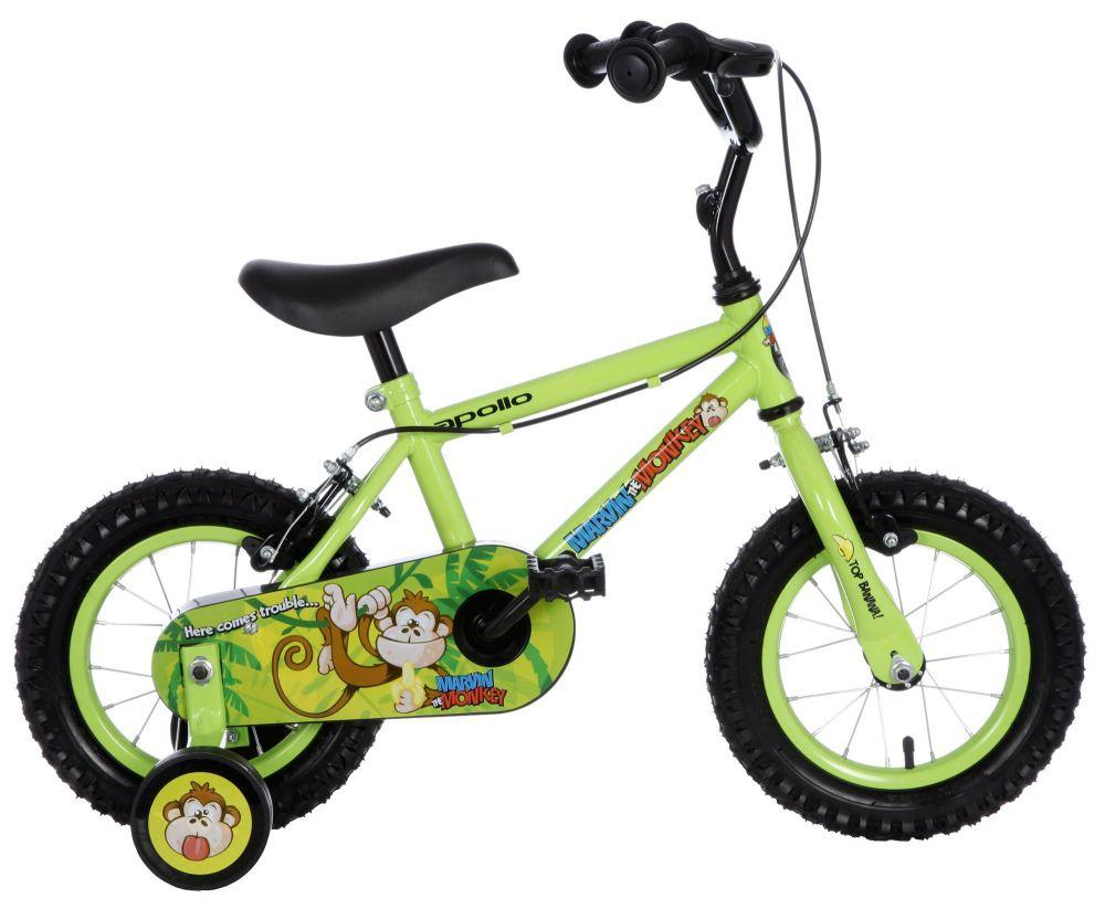Apollo Marvin The Monkey Childrens Boys Bike Bicycle 12
