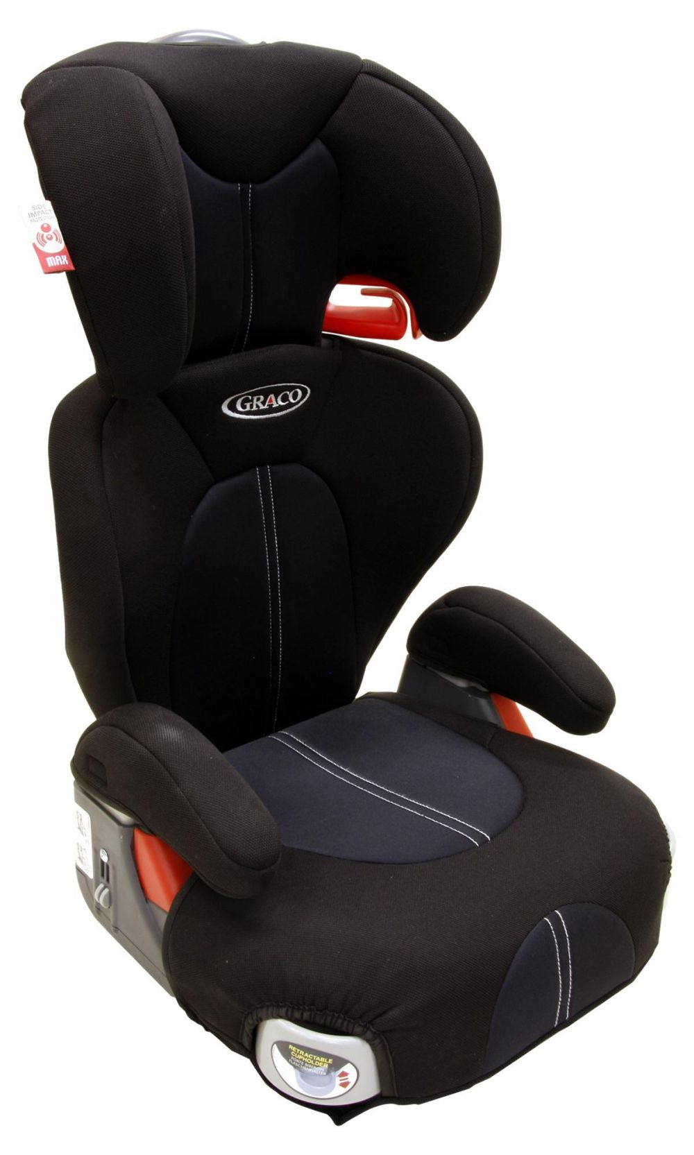 Graco Logico L High Back Booster Seat Jet Group 2-3 / 15-36kg / 4 ...